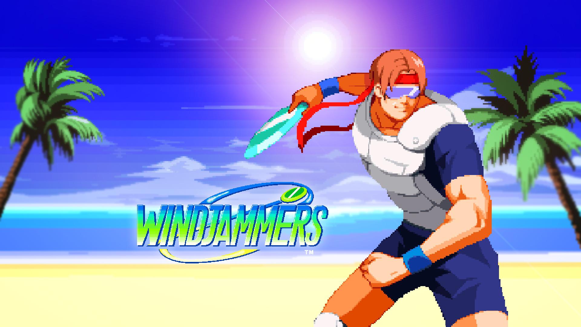 Windjammers e-sport
