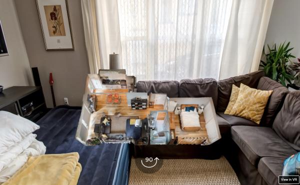 Réalité virtuelle pour Airbnb