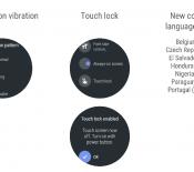 Android Wear a lui aussi droit à Oreo