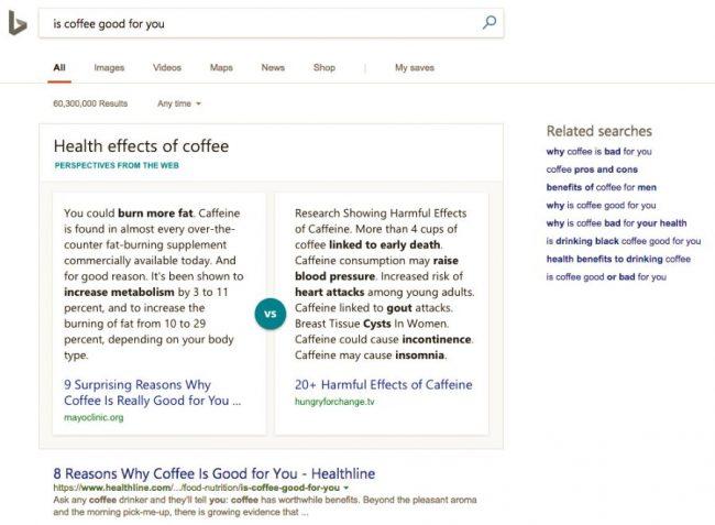 IA dans Bing