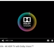 Sony annonce l'arrivée du Dolby Vision sur ses téléviseurs haut de gamme