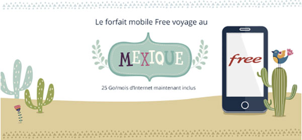 Free Mobile Mexique