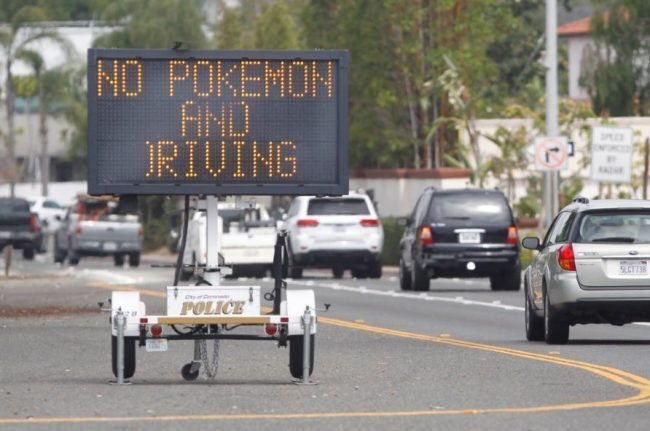 pokemon go driving