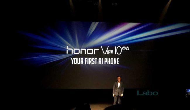 Prise en main Honor View 10 V10