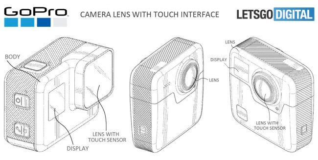 touch sensor gopro