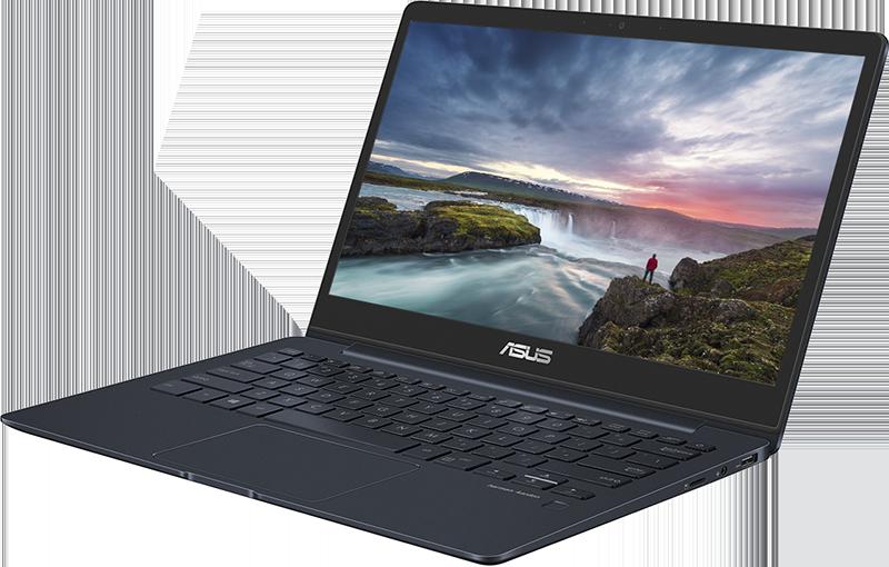 ASUS ZenBook 13_Deep Dive Blue CES 2018