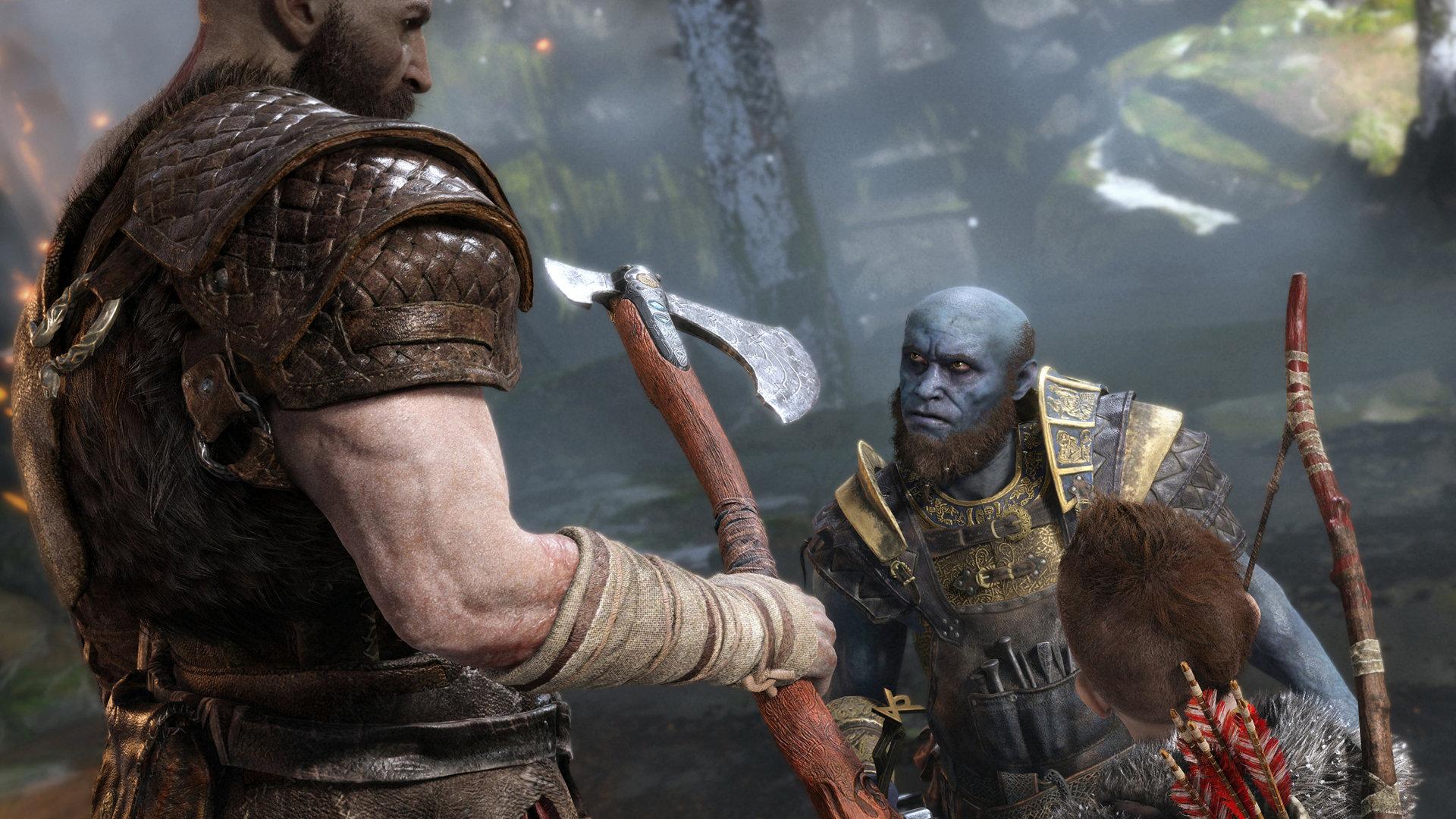 God of War PlayStation Sony