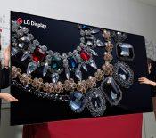 CES 2018 : LG présente un écran OLED 8K de 88 pouces