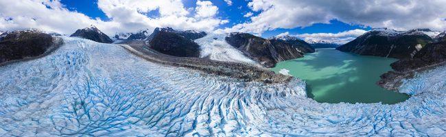 Image panoramique de 32 mégapixels
