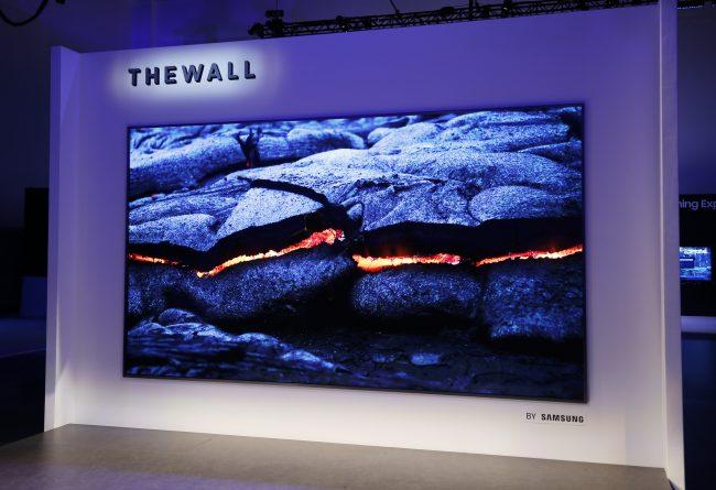 the wall samsung
