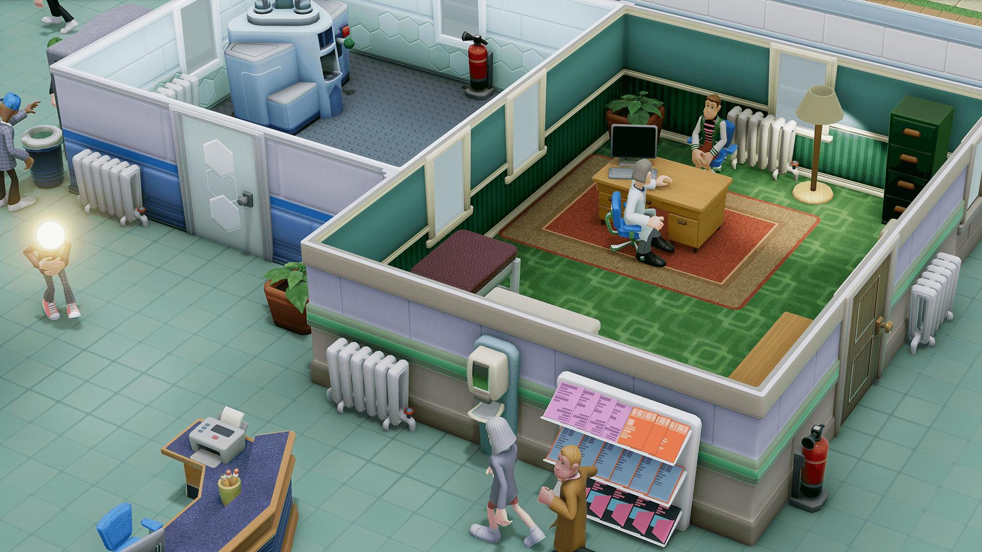 Two Point Hospital Theme Hospital Sega