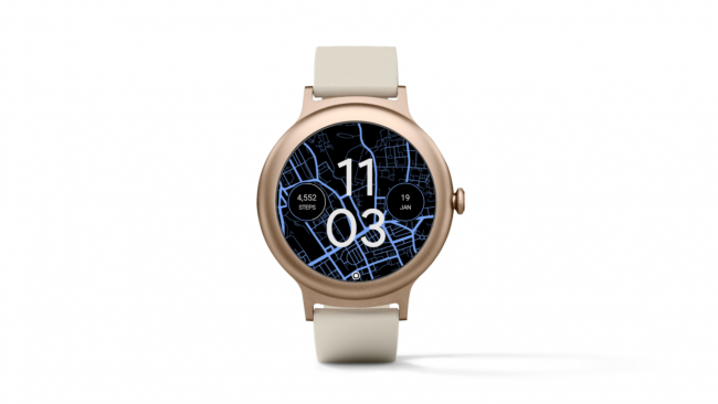Indicateur de notifications d'Android Wear 2.9