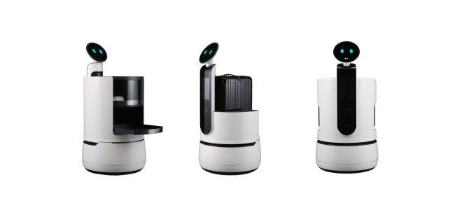 LG Robots CES 2018