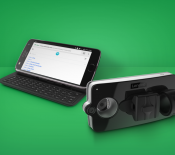 Moto Mods Livermorium Slider Keayboard & Lenovo Vital