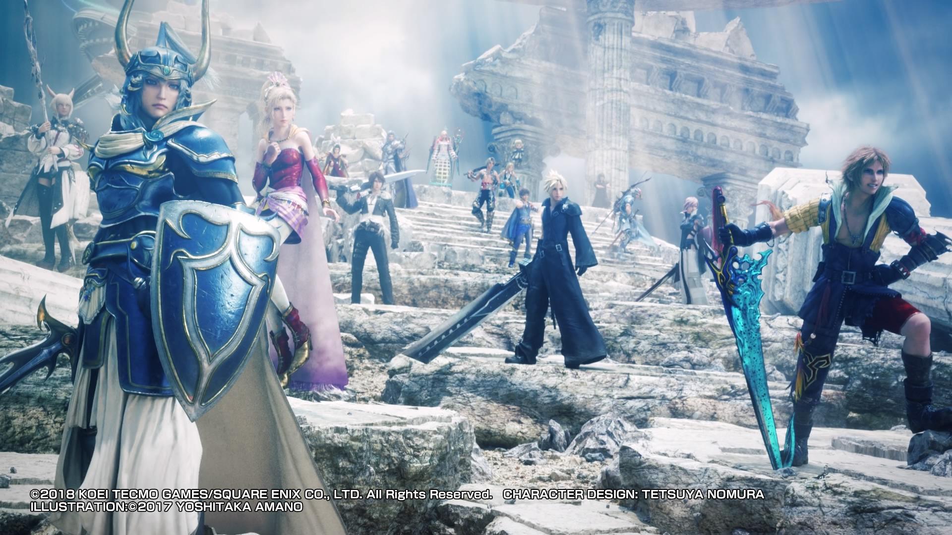 Dissidia Final Fantasy NT 11