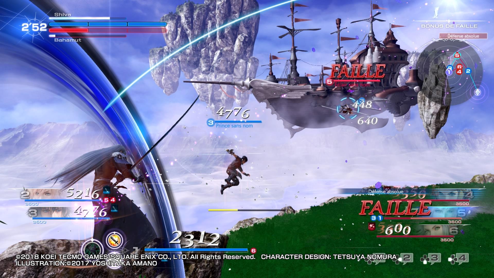 Dissidia Final Fantasy NT 10