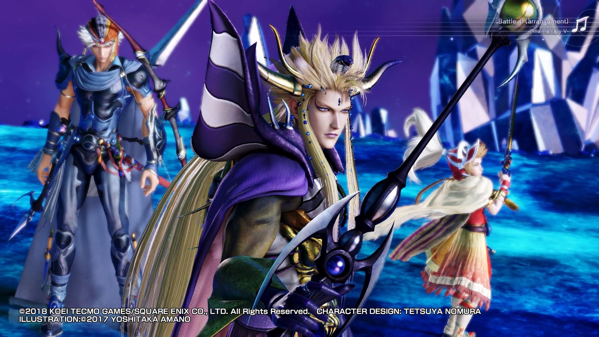 Dissidia Final Fantasy NT 9