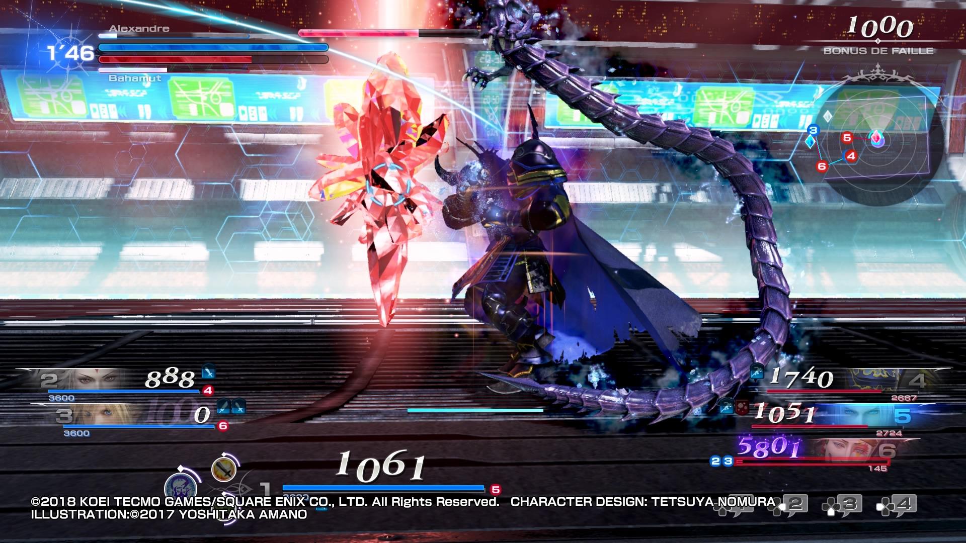 Dissidia Final Fantasy NT 5