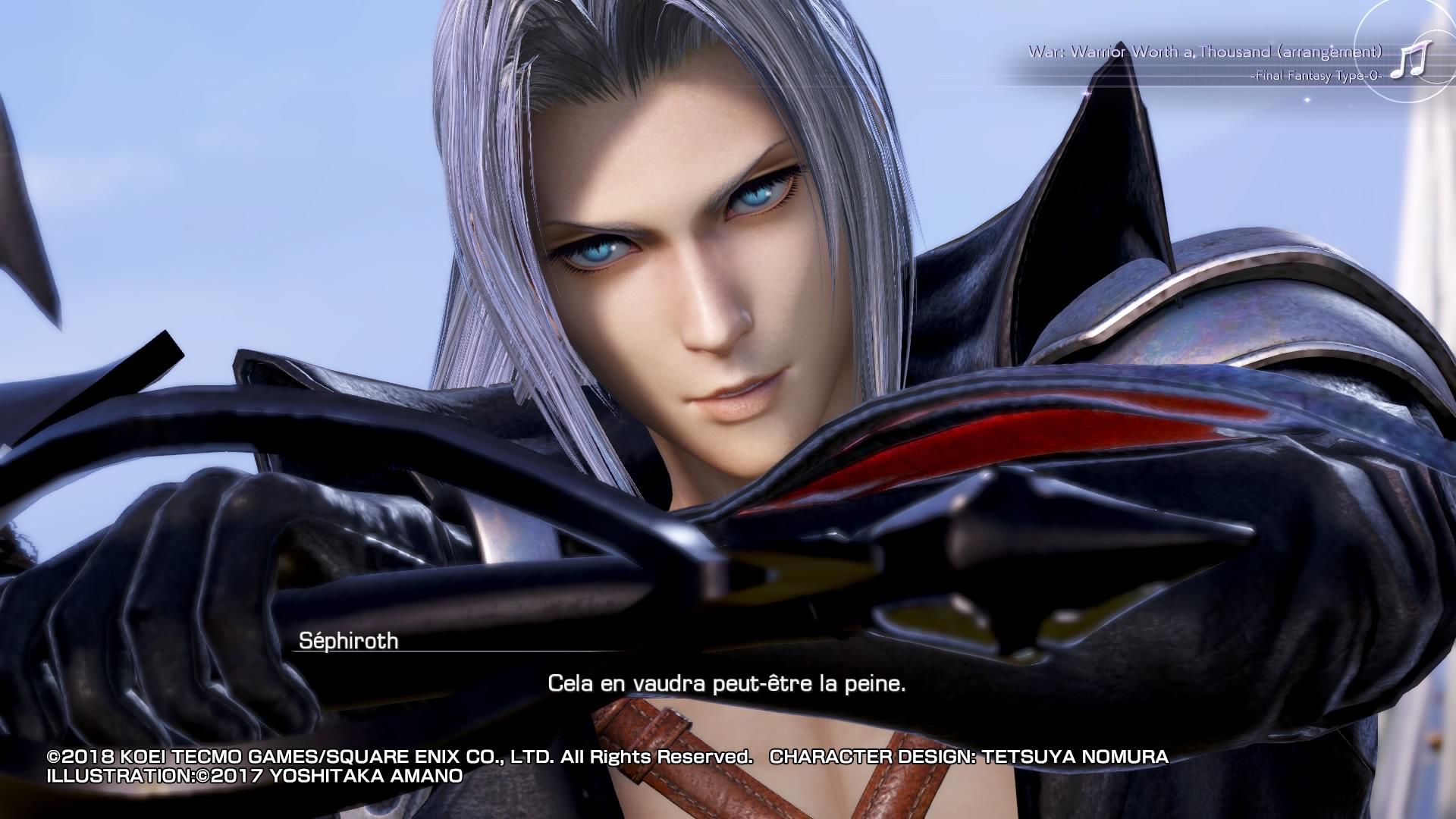 Dissidia Final Fantasy NT 4