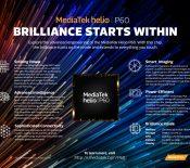MWC 2018 – MediaTek dévoile le Helio P60, son nouveau SoC milieu de gamme
