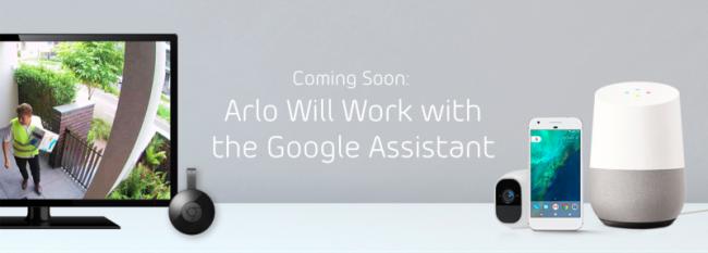 Arlo / Google Assistant