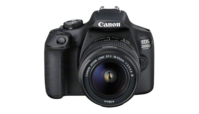 Canon EOS 2000D et 4000D : des reflex pour grands débutants