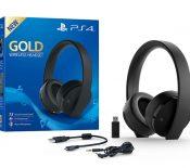 La PlayStation 4 s'offre un nouveau casque sans fil «Gold»