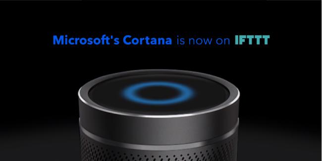 Cortana avec IFTTT