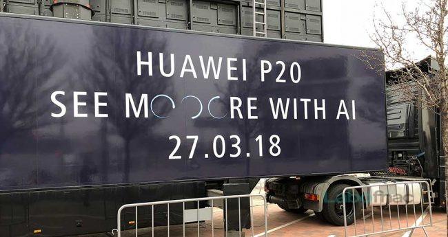 Huawei P20 3 capteurs photo