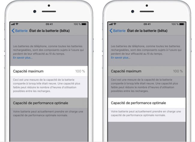 comment mettre iso 7 iphone