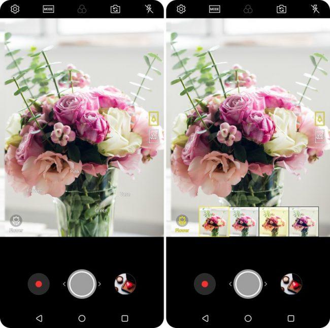 Vision AI pour nouveau LG V30