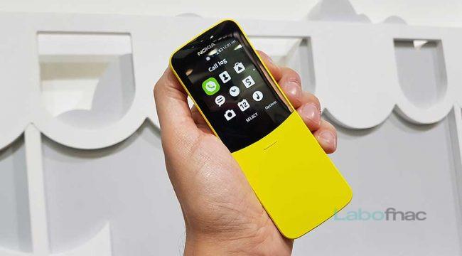 Nokia 8110 4G MWC 2018