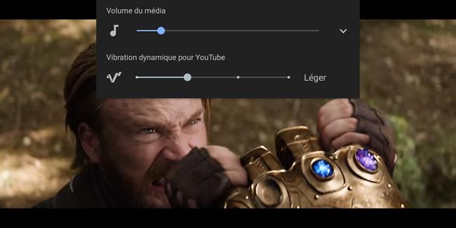 screen vibration dynamique