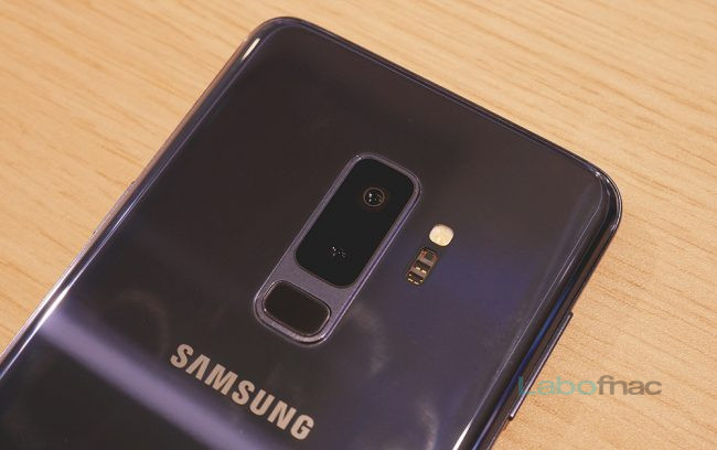 Le double module photo du Galaxy S9+ © LaboFnac