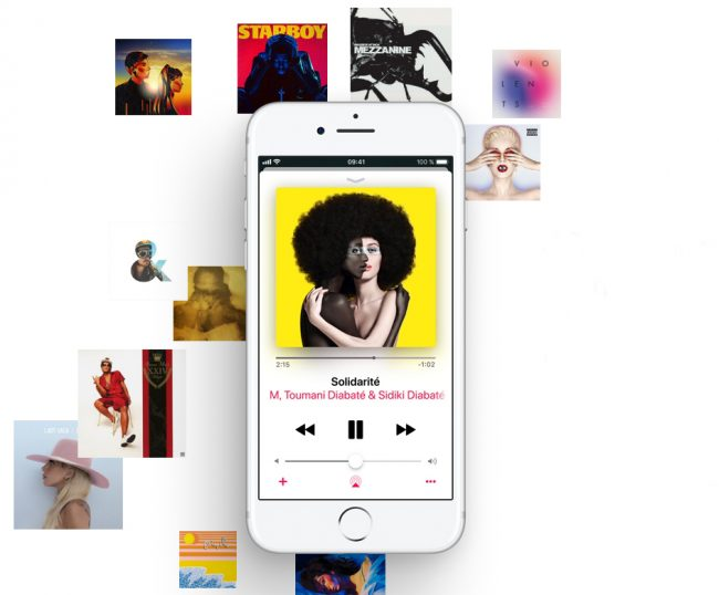 © Capture d'écran / Apple.com