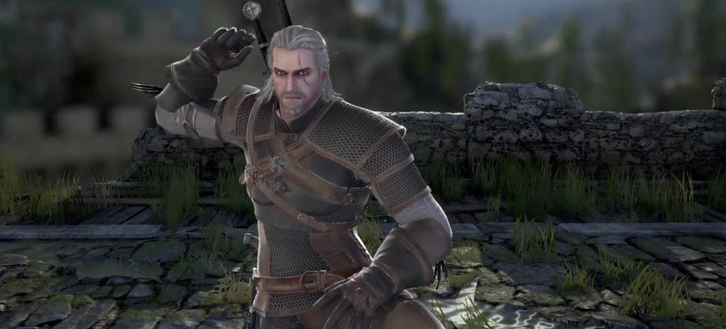 Geralt de Riv Soul Calibur VI