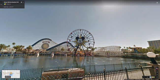 © Capture d'écran / Google Maps (Disney California Adventure Park)
