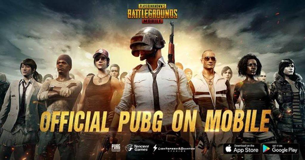 PlayerUnknown's Battlegrounds PUBG mobiles