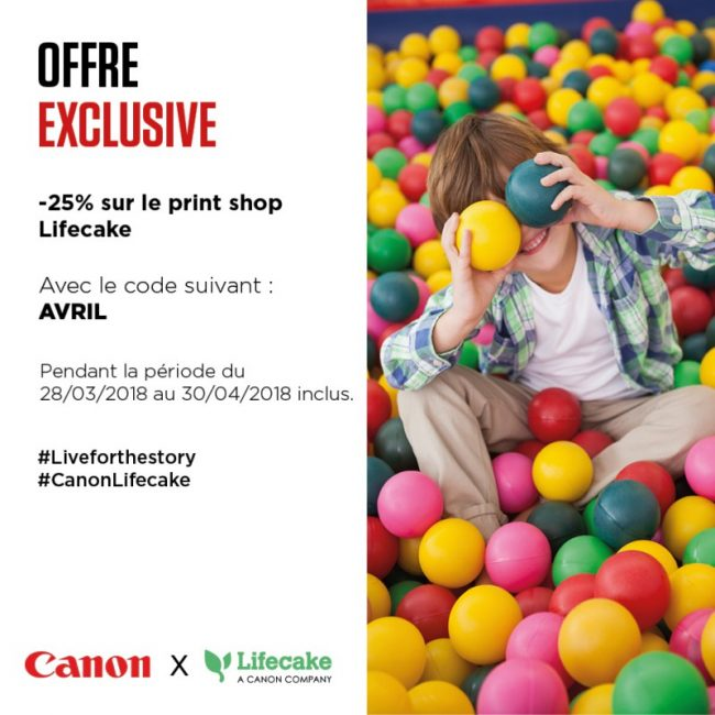 Code promotionnelle LifeCake