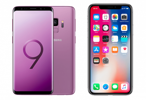 Comparatif : iPhone X vs Samsung Galaxy S9, lequel choisir ?