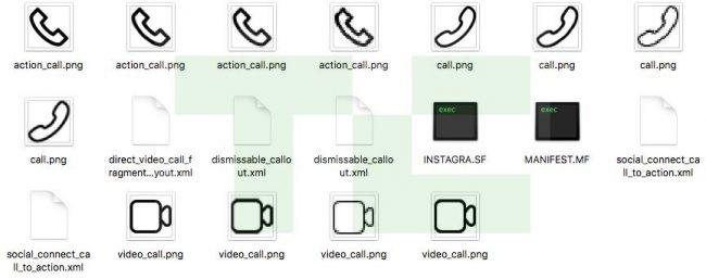 Instagram appels audio vidéos