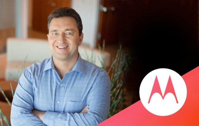 Sergio Buniac, nouveau président de Motorola
