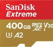 MWC 2018 – SanDisk Extreme 400 Go, la carte microSD UHS-I la plus rapide du monde