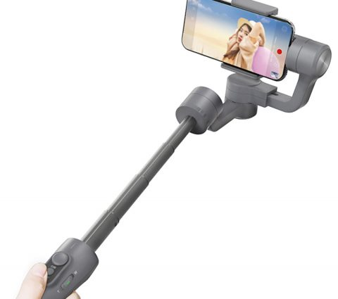 Feiyu Vimble 2 : un stabilisateur pour smartphone doté d'une perche extensible