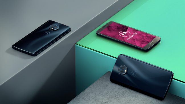 Le Moto G6. © Motorola