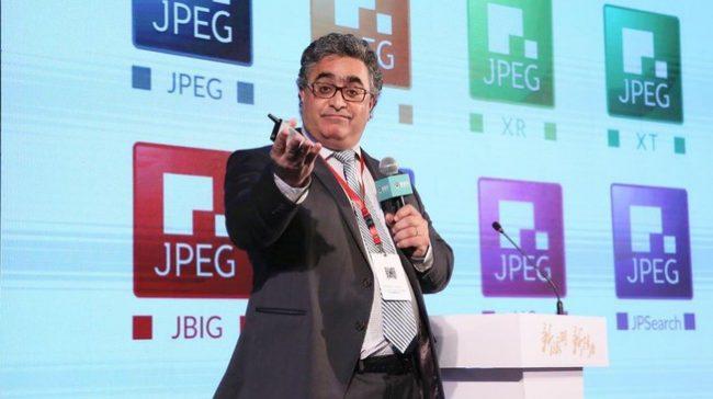 Touradj Ebrahimi, président du groupe d'experts JPEG © 7tin.cn