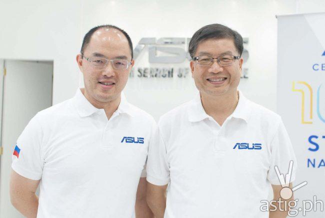 Jerry Shen (à droite) à l'ouverture d'une boutique aux Philippines © astig.ph