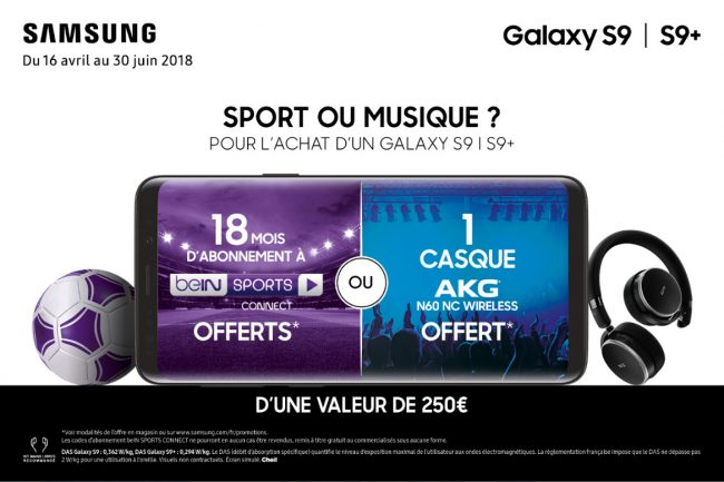 Samsung promo beIN Sports