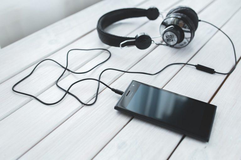 Smartphone Musique Casque