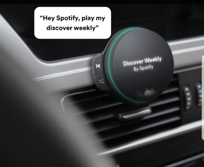Spotify voiture
